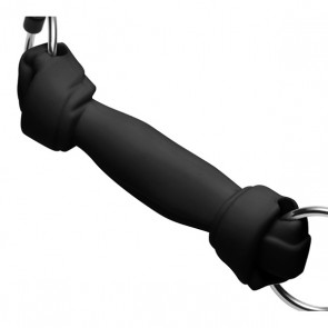 Mister B Dog Bone Gag Black