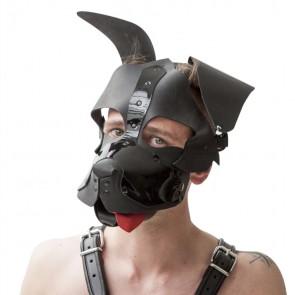 Mister B - Zwart Honden Masker Floppy*