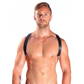 Mister B Leather Sling Harnas Zwart