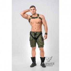 Maskulo Enforce Bulldog Harnas - Zwart