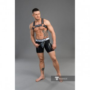 Maskulo Youngero Men's Fetish Shorts - Zwart