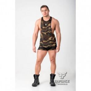 Maskulo Enforce Crop Top - Camouflage