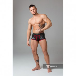 Maskulo Youngero Fetish Trunks - Rood