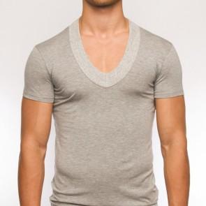 Modus Vivendi Pure V-Shirt Grijs