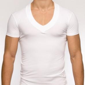 Modus Vivendi Pure V-Shirt Wit