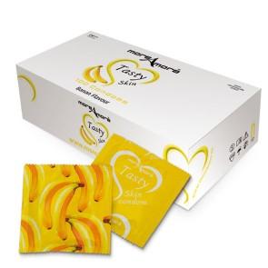 Tasty Skin Banana Condooms 100 st.