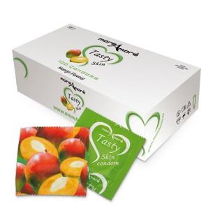 Tasty Skin Mango Condooms 100 st.