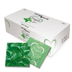Tasty Skin Mint Condooms 100 st.