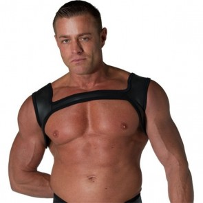 Neoprene Holster Harness Black and Black