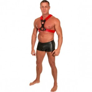 Neoprene Neo Skin Harness Black and Red
