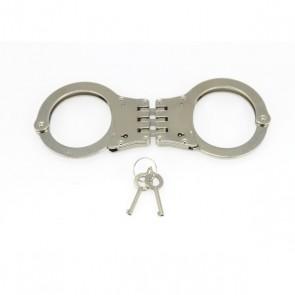 Rimba - Stalen politie handboeien scharnierend 340 gram