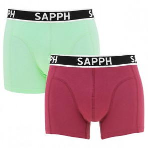 Sapph Collin Boxer Set - Fuchsia / Mint