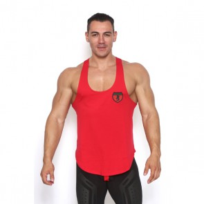 Black Unicorn - Shield Muscle Tank - Rood