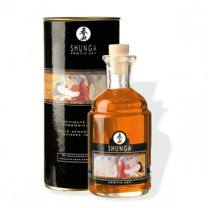 Intimate Kisses Aphrodisiac Oil Orange Fantasy van Shunga