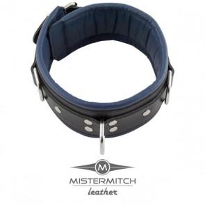 Slavenhalsband blauw gevoerd