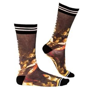 Sock My Rembrandt - Heren Sokken zijkant