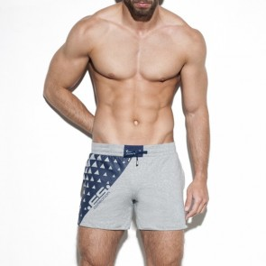 ES Collection SP180 Classic Sport Short Heather Grey