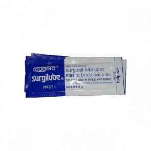 Surgilube Sterile Lubricant Sachets