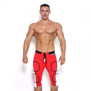 Black Unicorn - Tackle Me Pants - Rood