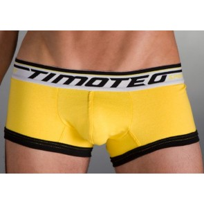 Timoteo Sport Scout Square Slip Geel-Wit